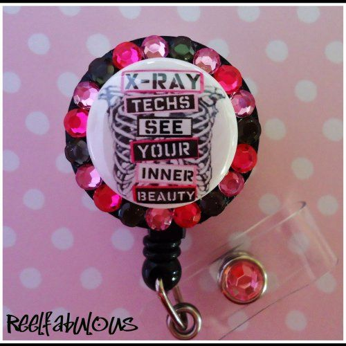X Ray Tech Id Reel Badge Holder Reelfabulous Accessories On