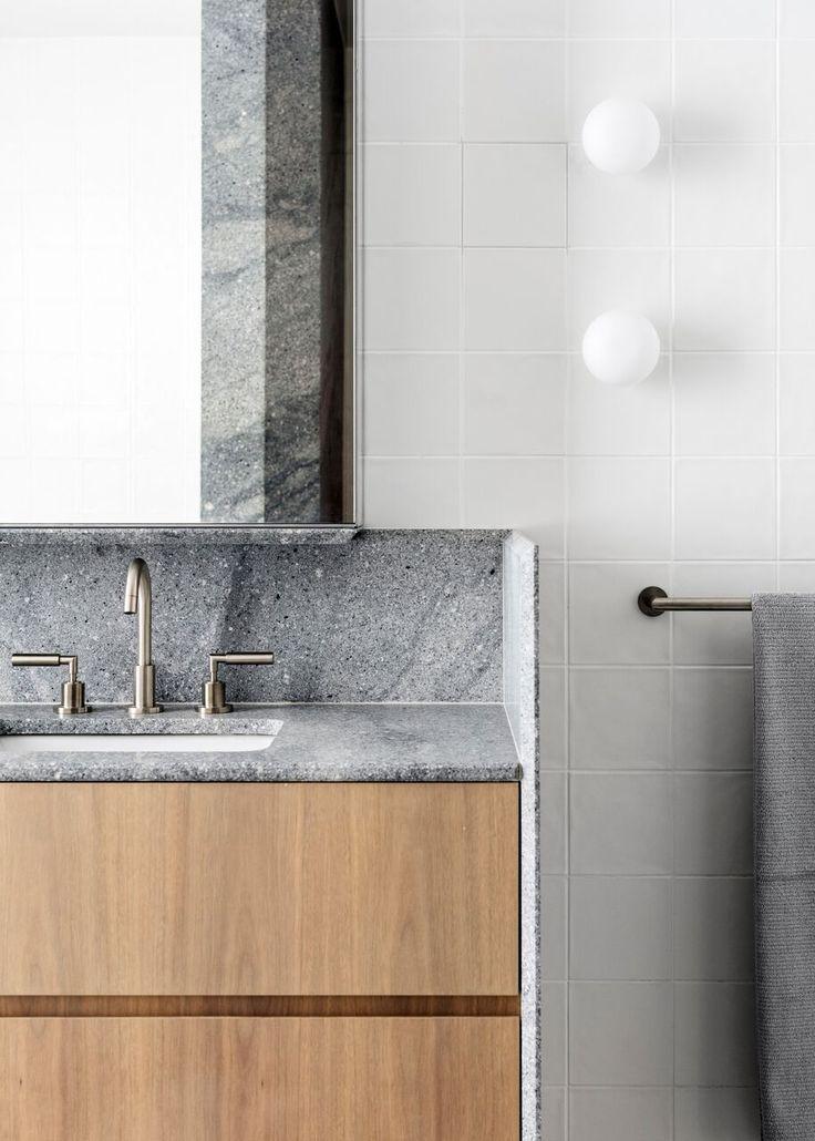 Loftus Lane Sydney Our Paradiso scheme bathroom vanity for this boutique apartment development.