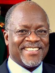PRESIDENTE DE LA REP. DE TANZANIA: JOHN MAGUFULI (2015- )