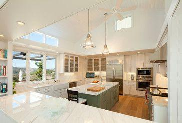 OPEN CEILING | Modern Farmhouse - farmhouse - Kitchen - San Luis Obispo - Semmes & Co. Builders, Inc