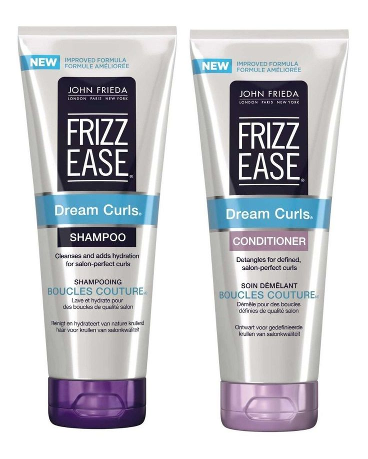 john frieda frizz ease dream curls shampoo conditioner 250ml each 5060331690177 curls. Black Bedroom Furniture Sets. Home Design Ideas