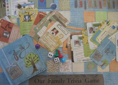 family board game!Diy Families, Families History, Families Boards, Boards Games, Board Games, Families Games, Family'S What Fun, Families Bond, Family Games