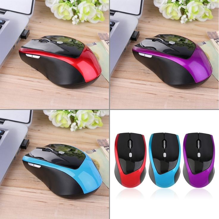 New 2.4Ghz Mini portable Wireless Optical 6 Button 800 to 2000 DPI Adjustable Professional Gaming Game Mouse Mice For PC Laptop