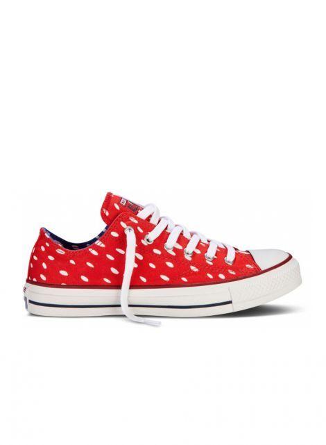 Nebraska Converse Shoes