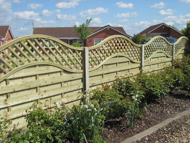 privacy fence trellis - Google Search