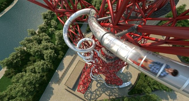 Slip onto your mat & slide through the ArcelorMittal Orbit as the new installation opens in time for summer. Just make sure you don't blink & miss it!