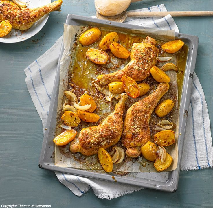 Afrikanische Hähnchenkeulen – Chefkoch