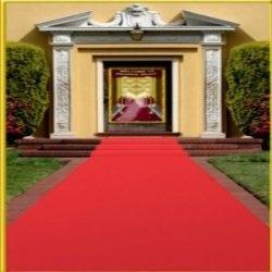 Red dress gala ideas 75th