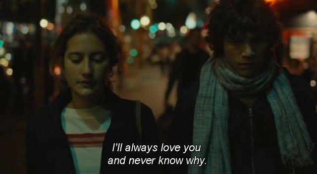 """From the French film """"Goodbye First Love"""""""