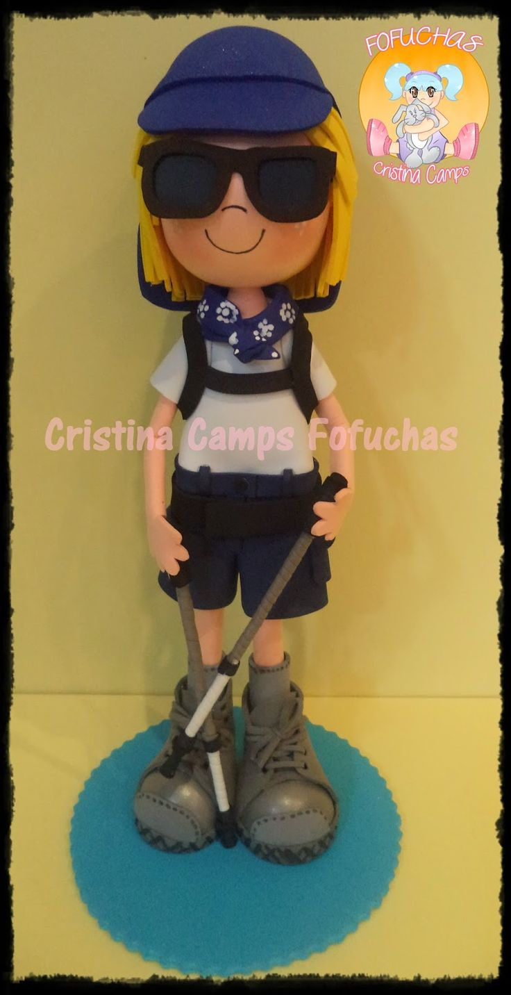 Cristina Camps Fofuchas: Fofucha montañera2