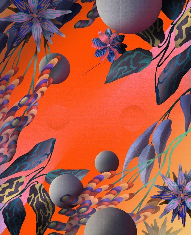 Gradient Explorations - Foliage | Merijn Hos | makersmgmt.com
