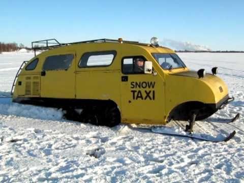 Bombardier B-12  (Snowmobile - Táxi)  1950