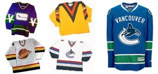 Those were the days - vancouver canucks jerseys #vancouvercanucks