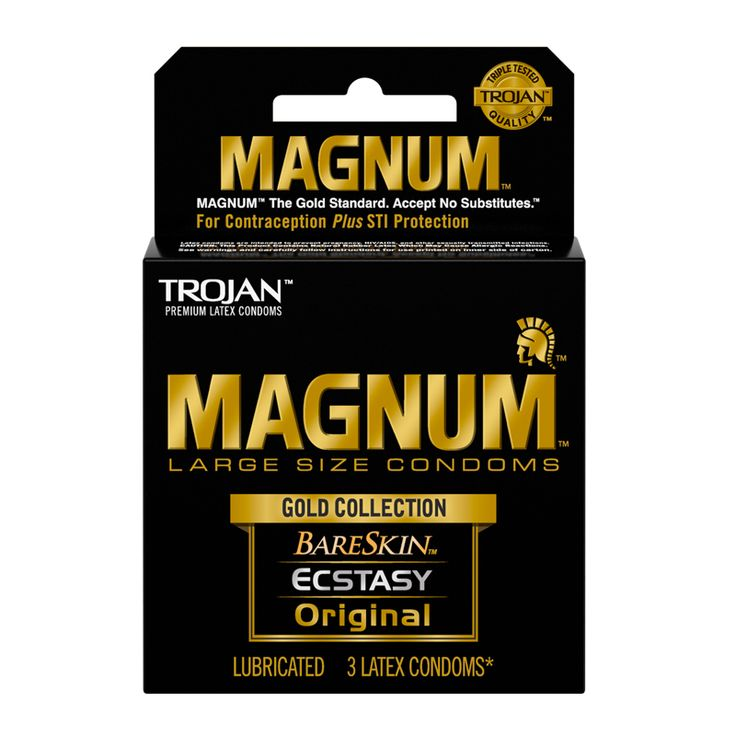 NEW! #Trojan #Magnum Gold Collection 3pk #nalpac #adultnovelty #wholesale #condoma