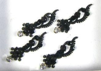 Fancy Black Bindis
