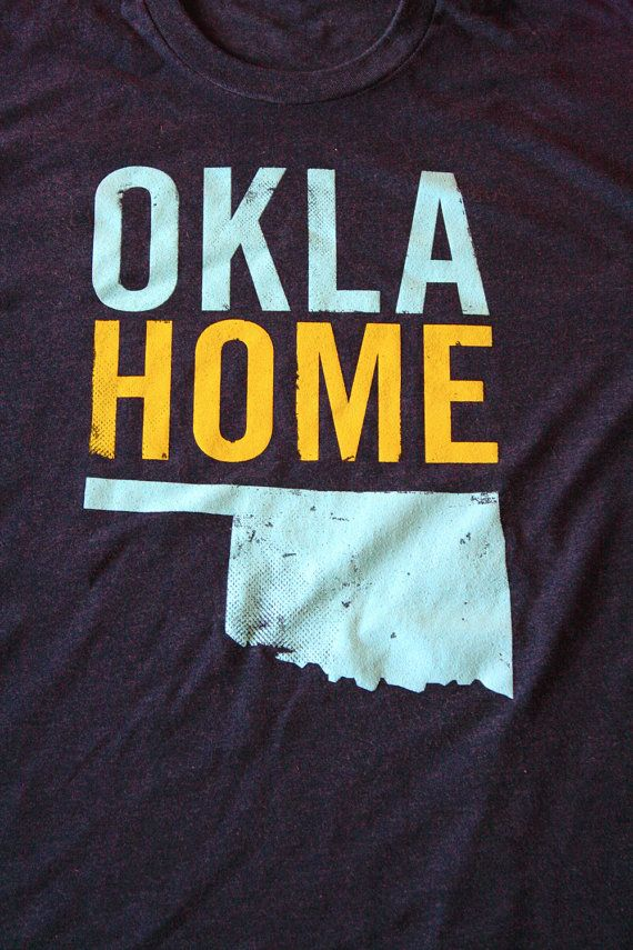 OklaHome T-shirt from Popprints.