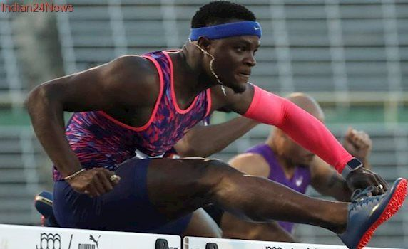Olympic champion Omar McLeod sets sizzling 110m hurdles pace