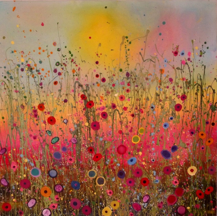 """""""You Bring My Heart Rainbows"""" by Yvonne Coomber"""