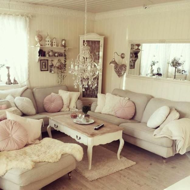 1644 Best Design  Shabby & Chic Cottage Style Images On Pinterest Cool Chic Living Room Review