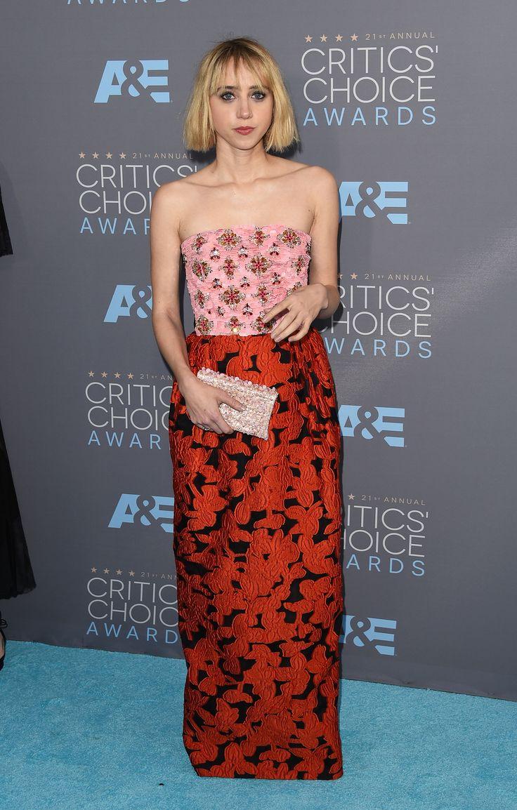 Zoe Kazan aux Critics' Choice Awards 2016