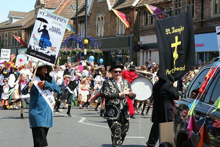 St Josephs school Portishead Marry Poppins June 2014 1
