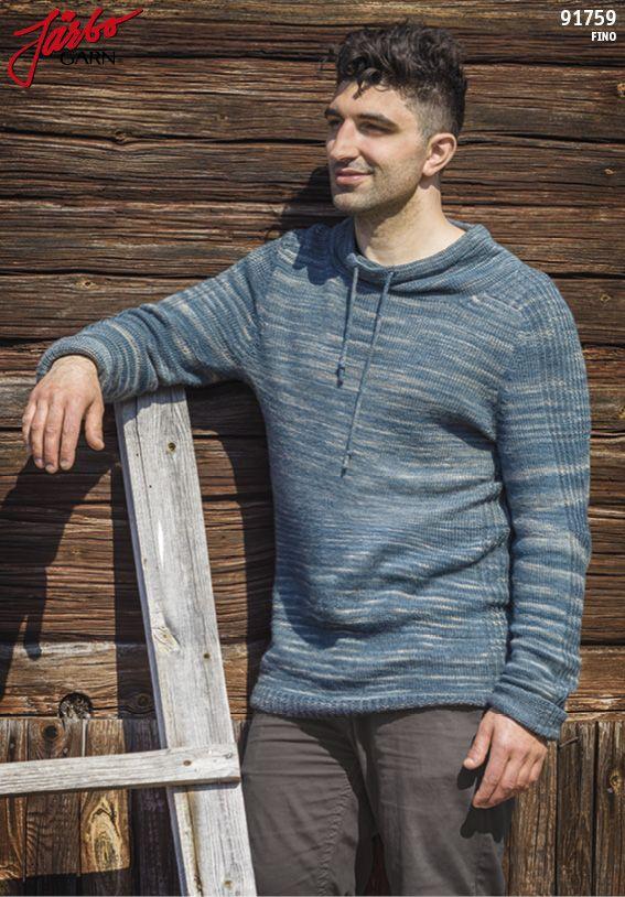Men's sweater in Manos Fino.