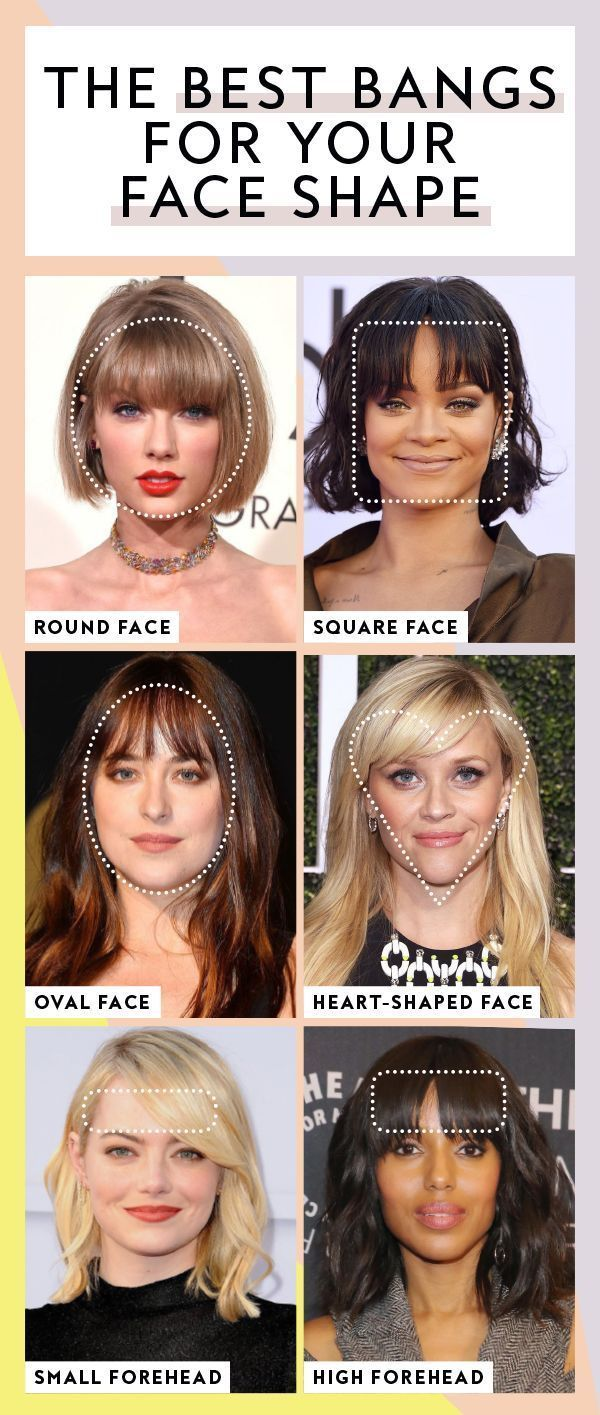 The Best Bangs For Your Face Shape Haircuts For Long Hair With Bangs Long Hair With Bangs Haircuts For Round Face Shape