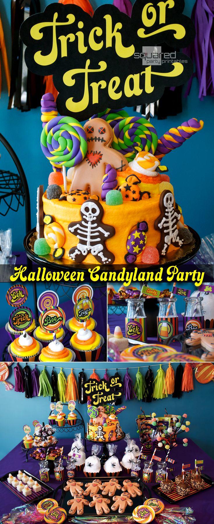53 best Halloween Candyland images on Pinterest