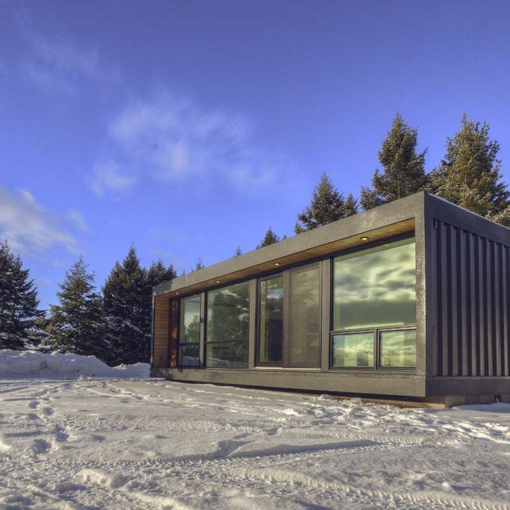 Greetings from Canada! :) Today's shipping container home is sure to make your jaw drop. If not from the stunning, modern features then possibly fr...