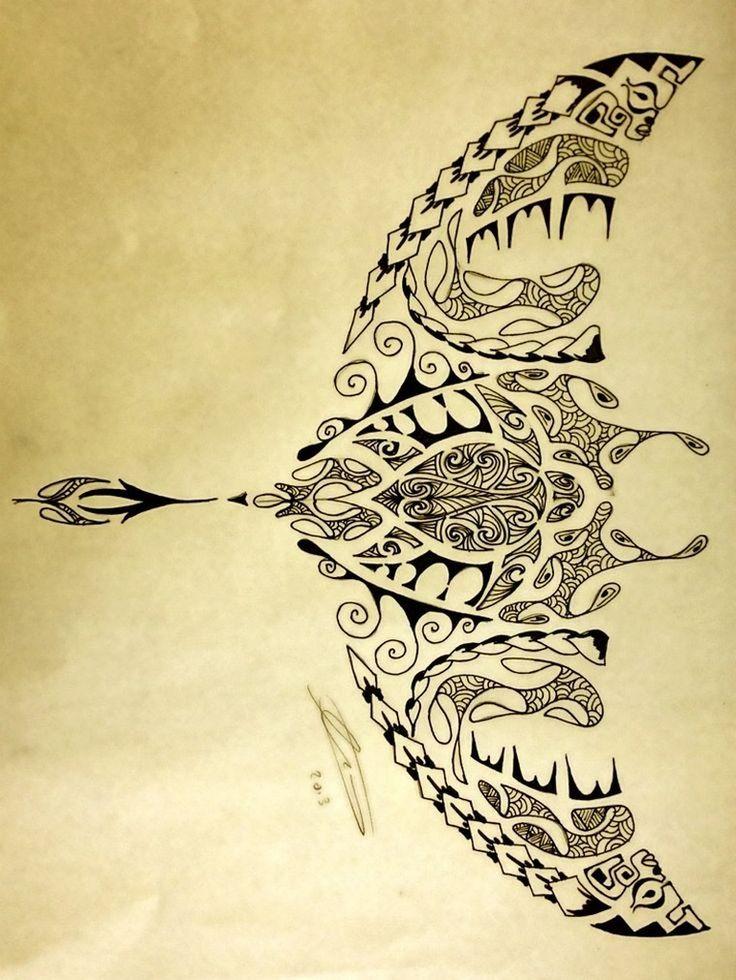 tatouage polynésien tribal maori idées