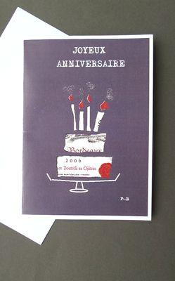 Faites le bonheur des amateurs de grands crus avec cette carte d'anniversaire.