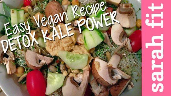 Easy #Vegan Recipe: #Kale Power Salad
