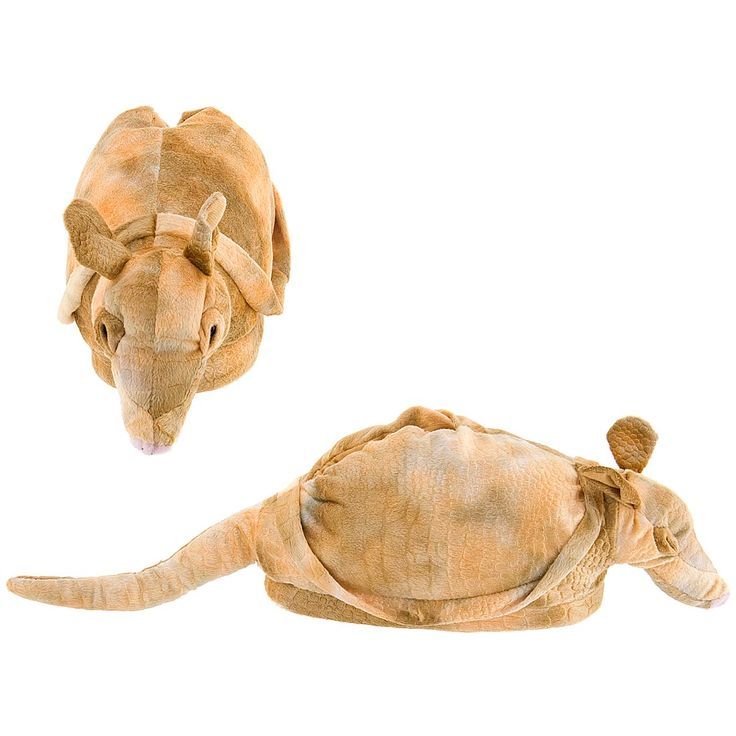 Armadillo Animal Slippers for Women - Animal Slippers