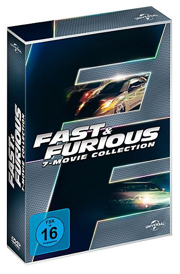 The Fast and Furious - 7-Movie Collection: Alle sieben Filme mit actiongeladenem Bonus-Material #collection #autos #rennen #action #weltbild