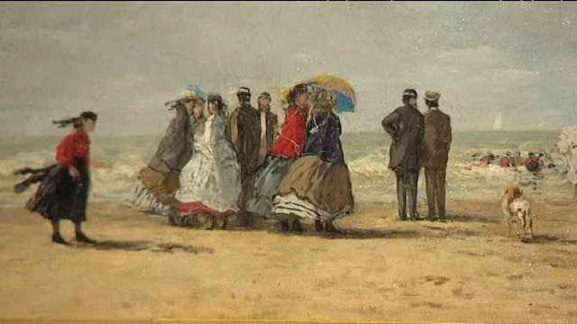 """L'opus havrais du """"festival Normandie Impressionniste"""" est consacré à Eugène Boudin. Le peintre a vu le jour à Honfleur. Le ciel, l'eau, la vibration du jour l'ont passionné"""