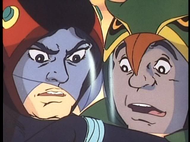 Joe (Jason) & Ryu (Tiny). Gatchamant/Battle of the Planets ...
