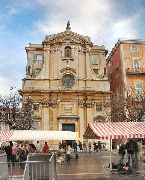 Chapelle de la Miséricorde . Nice. Côte d'Azur