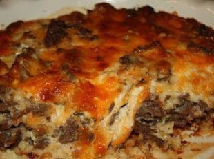 Bisquick Impossibly Easy Cheeseburger Pie Recipe via @SparkPeople