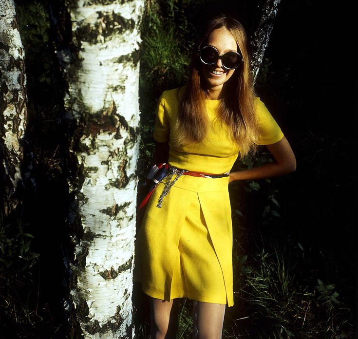 Małgorzata Braunek, moda Barbary Hoff, fot. Tadeusz Rolke /AG