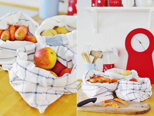[PREZENT] Woreczki na warzywa i owoce, które zrobisz w domu. Przydatny, praktyczny prezent.
