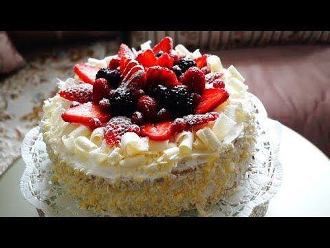 كيك و لا في الأحلام جميل و متول و لذيذ بمكونات متوفرة الفوري بلانش Foret Blanche Youtube Desserts Food Mini Cheesecake