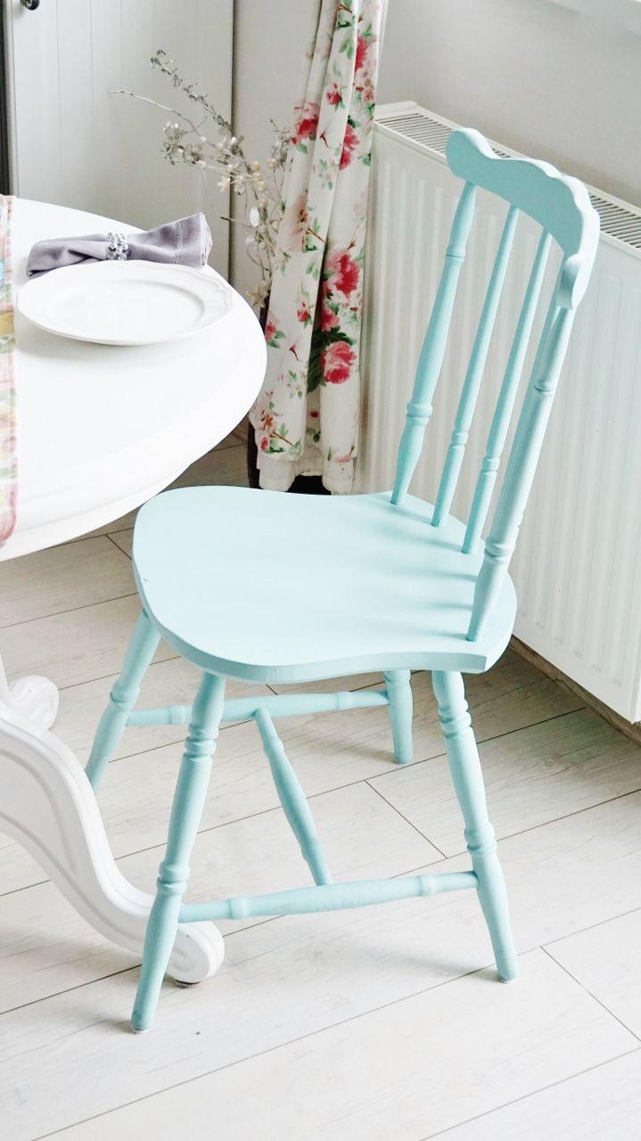miętowe krzesło