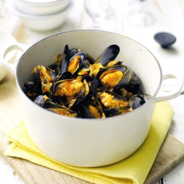 Mosselen op Spaanse wijze Recept | Weight Watchers Nederland