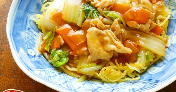 豚肉と白菜のあんかけかた焼そば by Y's [クックパッド] 簡単おいしいみんなのレシピが253万品