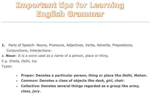 Important Tips for Learning English Grammar PDF Download   #englishgrammar #english #ssc #notes