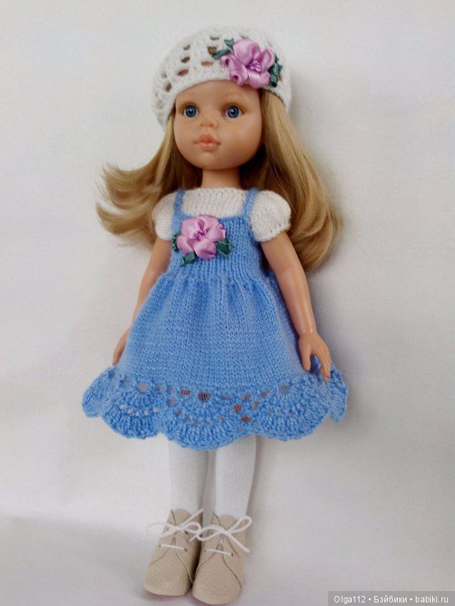 Комплект для кукол Паола Рейна. / Одежда для кукол / Шопик. Продать купить куклу / Бэйбики. Куклы фото. Одежда для кукол