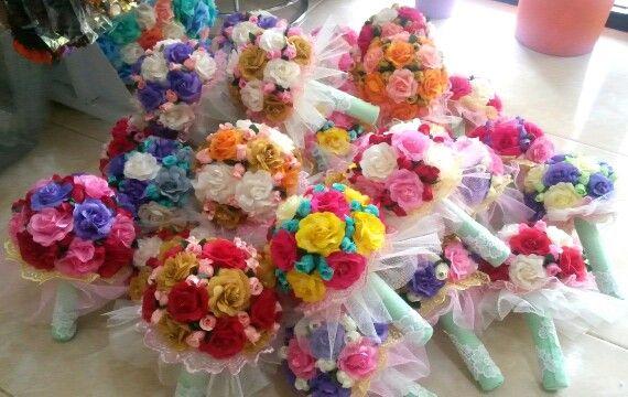 Flower Hand bouquete handmade
