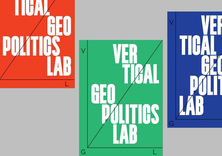 Vertical Geopolitics Lab on Behance