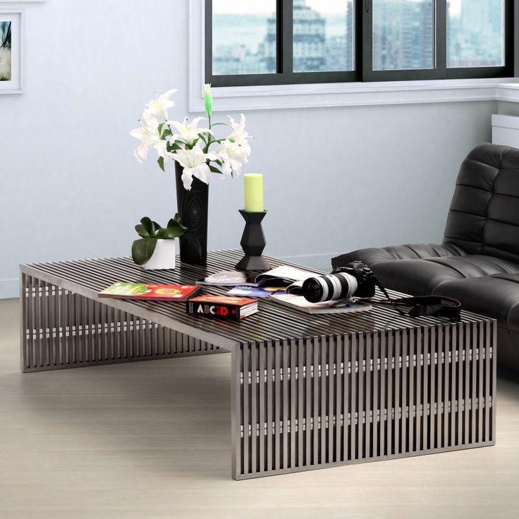 Zuo Modern Novel Long Coffee Table - 100083