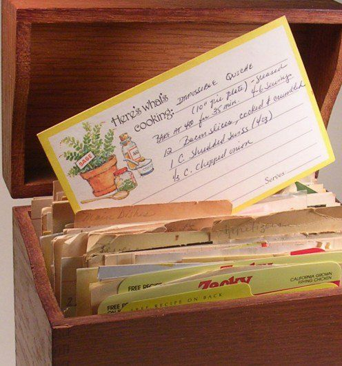 The impossible quiche recipe had been hiding in an old box of recipe cards for 30 years (original impossible quiche recipe)